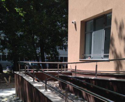 Balustrada Inox Rampa / Mana Curenta Aplicata / Balustrade Inox Bucuresti