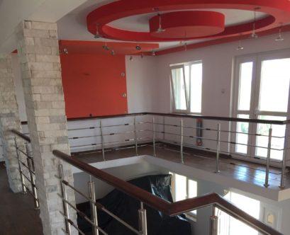 Balustrada Inox cu Lemn / Balustrade Inox Bucuresti